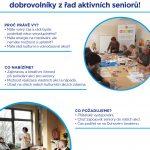 Hledáme dobrovolníky z řad aktivních seniorů!